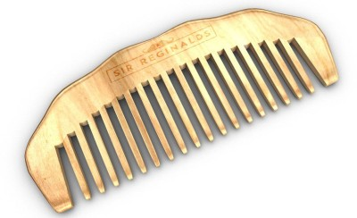Sir Reginalds Beard Comb Hand Made- Engraved- Beautifully Crafted- Sandalwood
