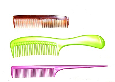 Aazi Professional hair Comb Pack of 3
