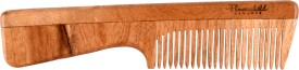 Flowerchild Handcrafted Neemwood - Anti static, Anti Dandruff and Eco-friendly- Handle comb:(195mm*45mm)