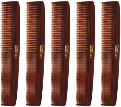 Roots Brown Dressing Comb for Long/Straight Hair - Pack of 5