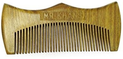 Mr Khans Beard Comb Hand Made- Engraved- Beautifully Crafted- Sandalwood