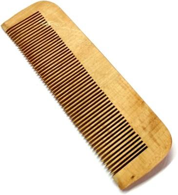 A Shreeparna Wooden Comb Controls Hair Loss And Dandruff