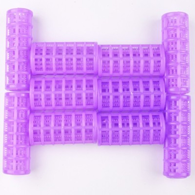 Majik Violet Plastic Rollers Hair Curler