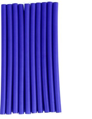 sharp n style Hot Curl Long Foam Hair Curler (Blue) Hair Curler