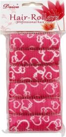 Daiou Pink Hair Rollers Pack of 6 Hair Curler(Pink)