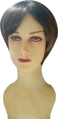 Wig-O-Mania Tease Syn Fibre Short Style  Piece Brown Auburn Hair Extension