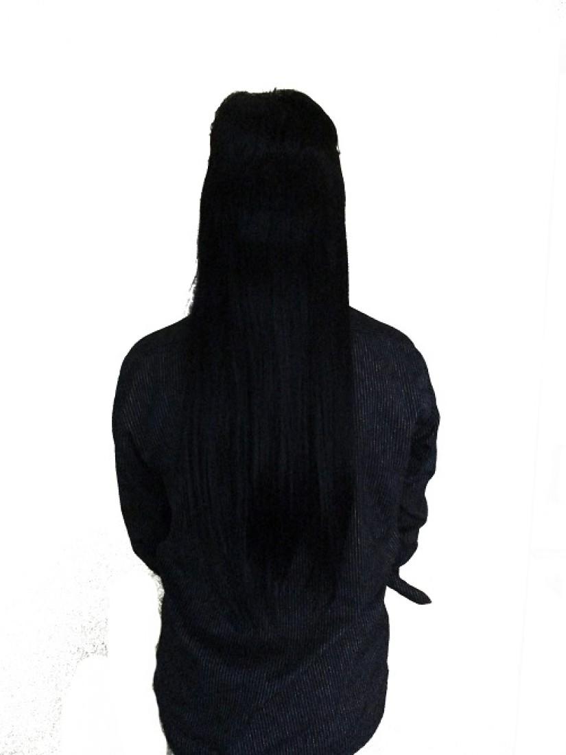 NOO-NAA-MEI Women's Long Beautiful Human  with 7 clips Hair Extension