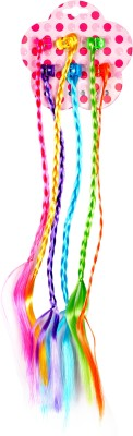Blossom Colorful Strips Hair Extension