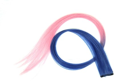 Street Soul Blue Pink Baby  Extension With Clip Hair Extension