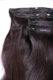 Capillatura Clip In 26 inch Hair Extension