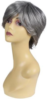 Wig-O-Mania Joyce Japanese Fibre Wig Salt Pepper Hair Extension