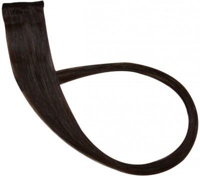 Krome 2drkstbrnx12 Single Clip In Remy Human 12 inch Hair Extension