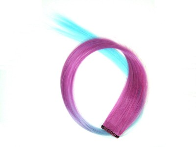 Street Soul Mauve Blue Baby  Extension With Clip Hair Extension