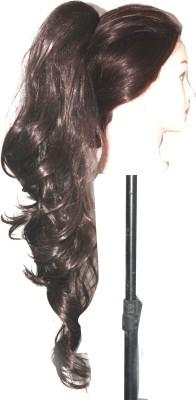 Ritzkart Womens Girls Fashion Style Wavy Curly Long extn Hair Extension