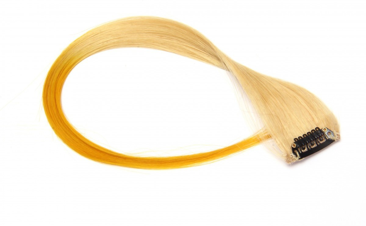 Krome Neon Ombré Yellow, Double Coloured Highlights, 16