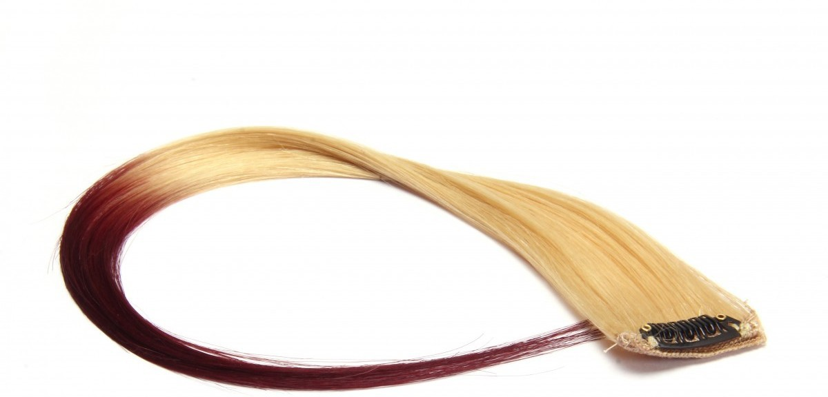 Krome Neon Ombré Brown, Double Coloured Highlights, 16