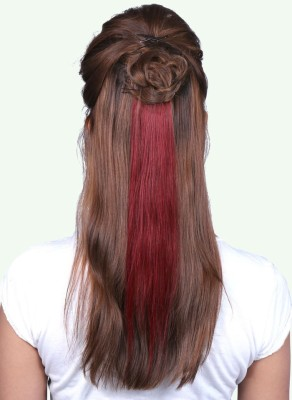 Krome REDx14 Clip in Remy Human  Extensions Red Hair Extension