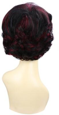 Wig-O-Mania Terri Japanese Fibre Wig Natural Black with Auburn Hair Extension