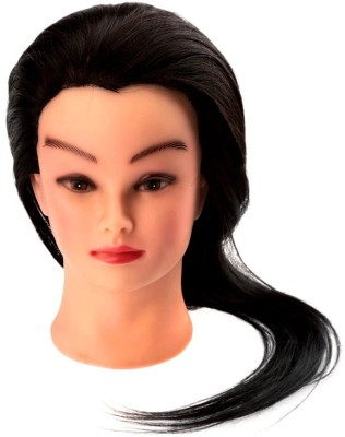 Out Of Box Manniquin For Styling/Cutting With Stand Black Heavy Hair Extension