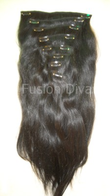 Fusion Diva Remy  10 inch Hair Extension