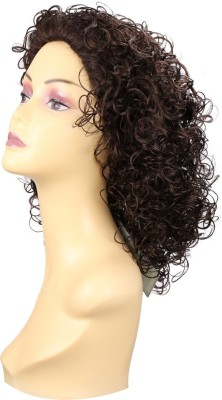 Wig-O-Mania Shannon Japanese Fibre Curly Wig Chessnut Hair Extension