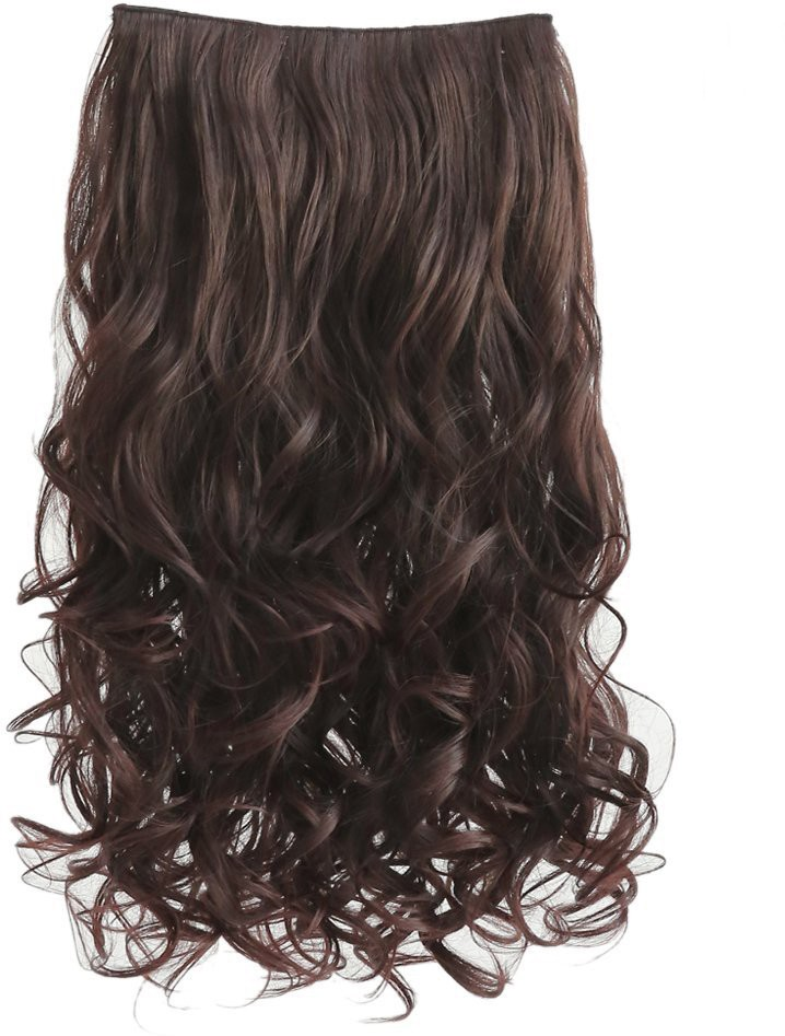 Kabello Royal quality washable Dark brown Hair Extension