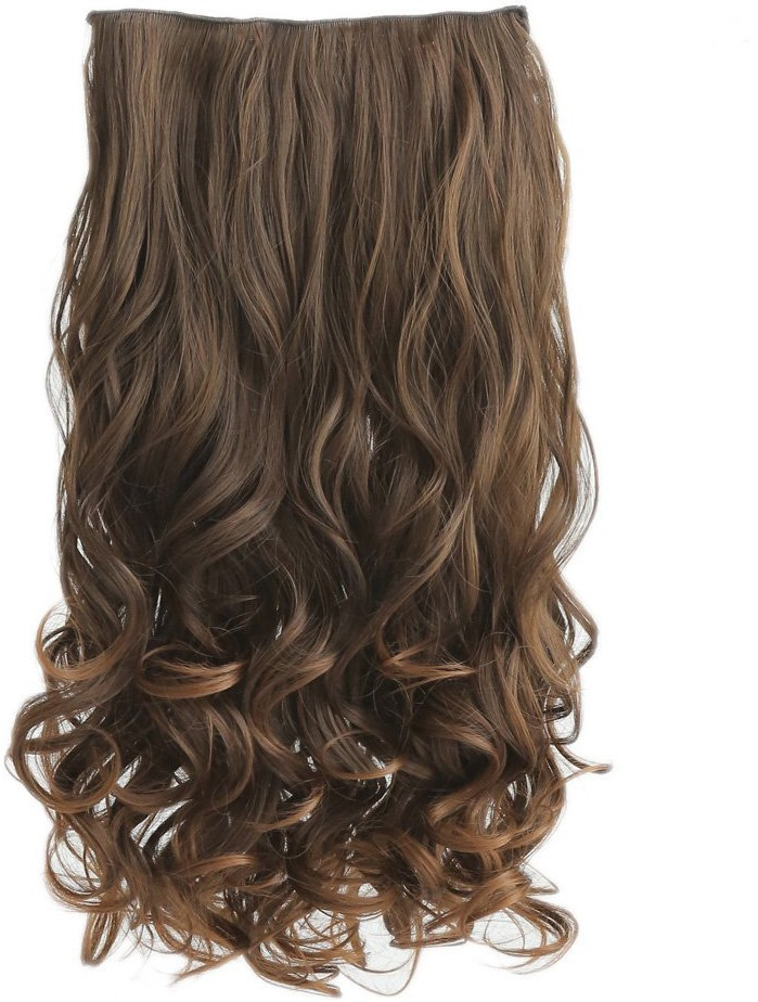 Kabello High quality synthetic Light Brown Hair Extension