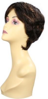Wig-O-Mania Halle Japanese Fibre Wig Medium Brown Chessnut Ash Brown Hair Extension