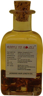 Roots To Roses Jaswand Hair Oil