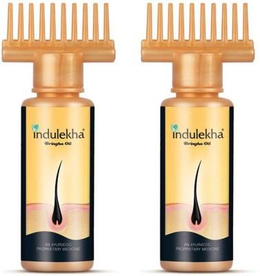 Indulekha Bringha Selfie Bottle (Pack of 2)) Hair Oil(100 ml)