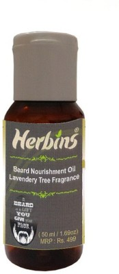 Herbins Beard Nourishment-Lavendery Tree Hair Oil