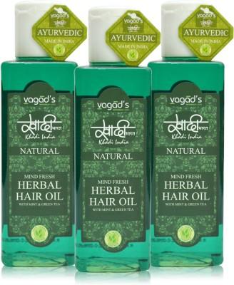 Khadi Natural Mind-Fresh Oil [ pack ofTHREE ] Hair Oil