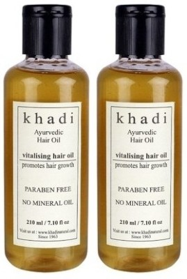 khadi Natural Ayurvedic Hair Growth Vitalising (Paraben Free)  Hair Oil