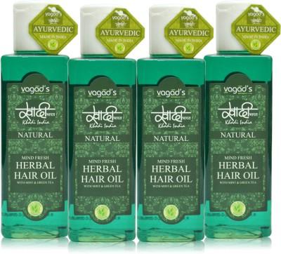 Khadi Natural Mind-Fresh Oil [ pack ofFOUR ] Hair Oil