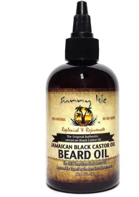 Sunny Isle Jamaican Black Castor Beard 2 Oz Hair Oil