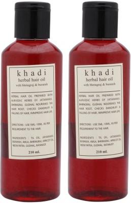 Khadi Natural bhirngraj & Buransh hair oil Hair Oil