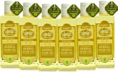Khadi Natural Anti-Dandruff Oil [pack of SIX] Hair Oil