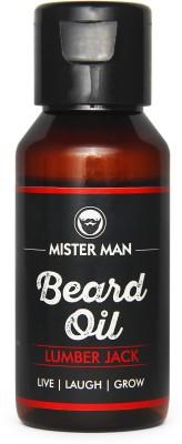 MisterMan Beard Oil LumberJack Hair Oil