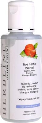 Herbline Five Herbs  Hair Oil