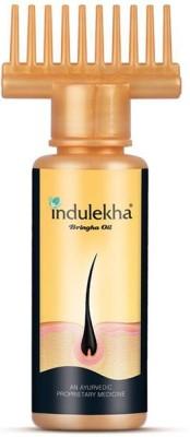 Indulekha Bringha Oil: Ayurvedic Solution for Healthy Scalp Skin and Hair Hair Oil(100 ml)