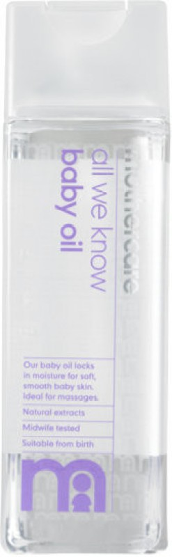 Mothercare All We Know Baby Oil - K3603 Hair Oil(300 ml)