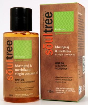 SoulTree Bhringraj And Methika In Virgin Coconut Oil Hair Oil