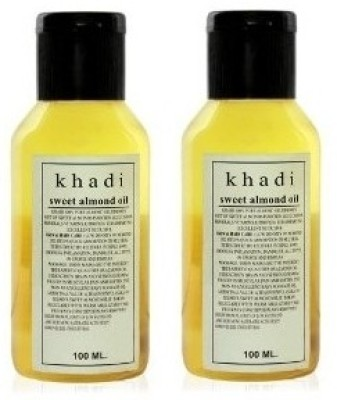 Khadi Herbal Sweet Almond Oil Hair Oil