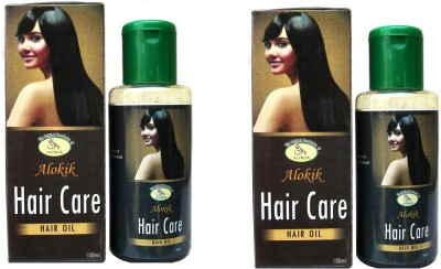 Alokik Hair oil Twin Pack Hair Oil