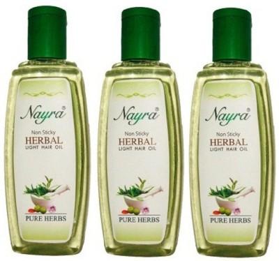 Nayra Non-Sticky Herbal BOPL_009_3 Hair Oil