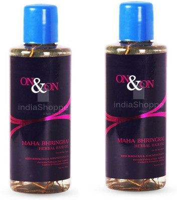 On & On Maha Bhringraj Herbal Hair Oil