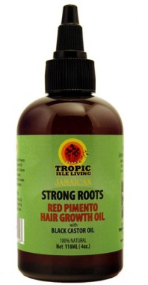 Tropic Isle Jamaican strong roots Red pimento with Black castor Hair Oil