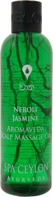 Spa Ceylon Luxury Ayurveda Neroli Jasmine Scalp Massage Hair Oil