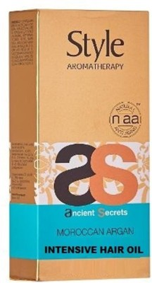 Style Aromatherapy ancient secrets Morccan argan intensive Hair Oil