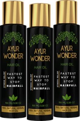 Ayurgenie Ayurwonder (Combo Pack) Hair Oil